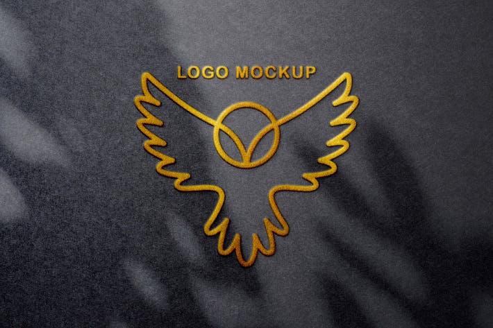 Thumbnail for Foil Embossing Logo Mockups