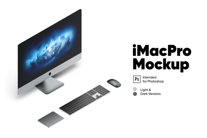 Thumbnail for iMac Pro (Two Colors) Mockup