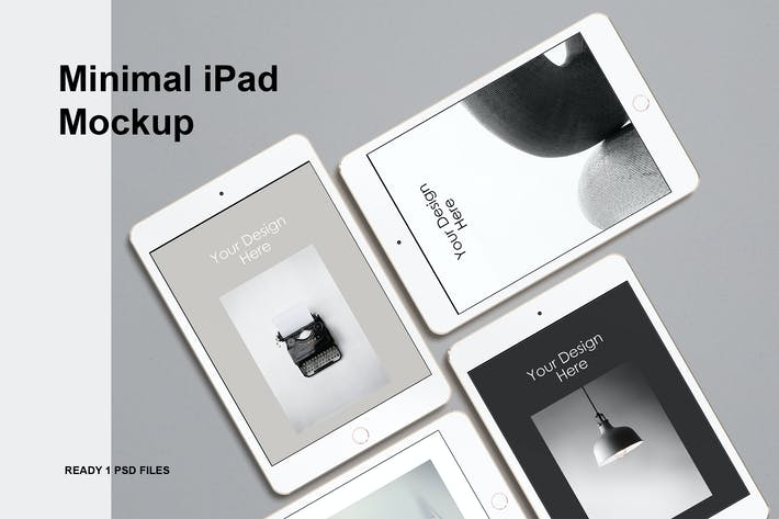 Thumbnail for Minimal iPad Mockup