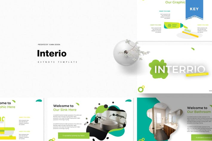 Thumbnail for Interio | Keynote Template