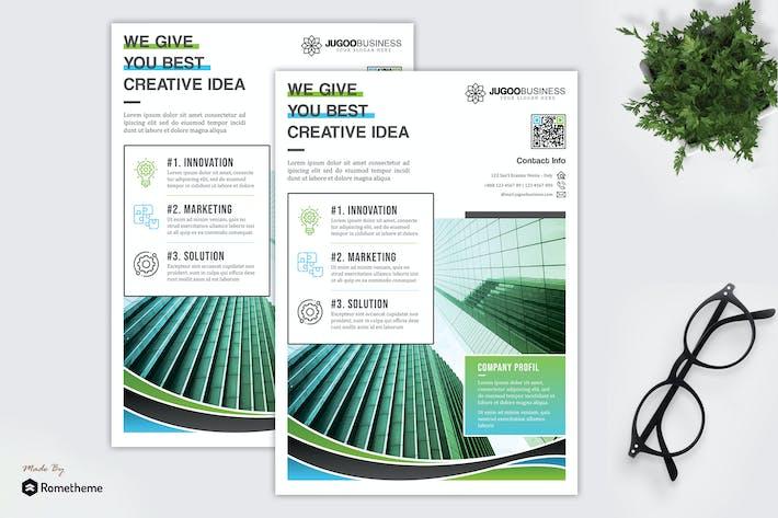 Thumbnail for Jugoo - Creative Corporate Flyer HR