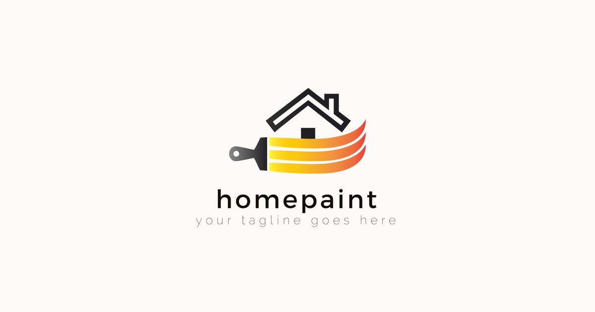 Download Homepaint - House Painting Logo Template by ThemeWisdom