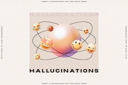 Hallucinations - 3D Illusion
