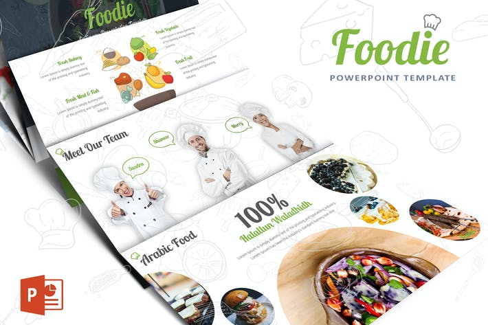Thumbnail for Foodie Powerpoint template