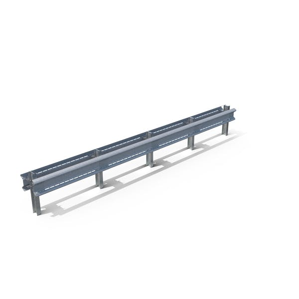 Highway Guardrail Middle Section