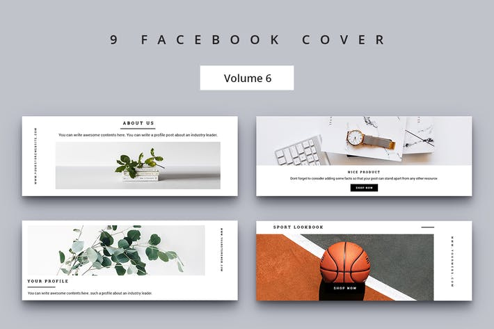 Thumbnail for Facebook Cover Vol. 6