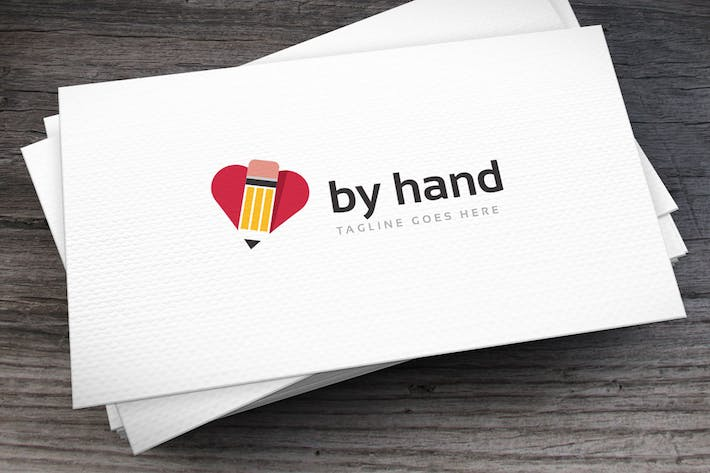 Thumbnail for Byhand Logo Template