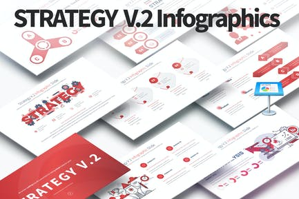 Strategy V.2 - Keynote Infographics Slides