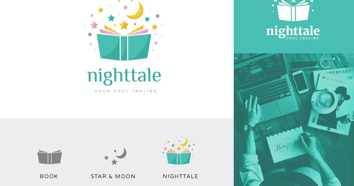 Download Nighttale Children Foundation Logo Vector Template by naulicrea