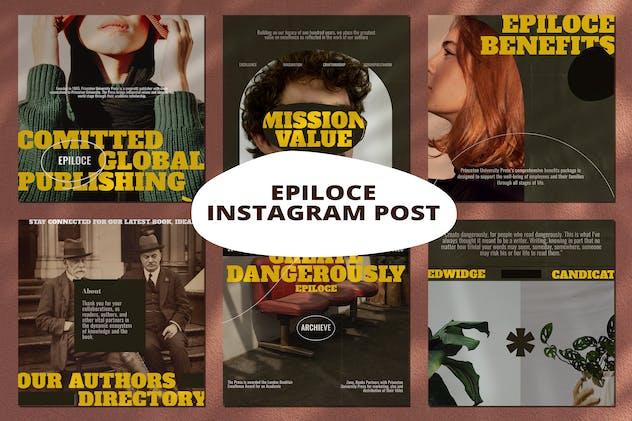 Epiloce Instagram Posts