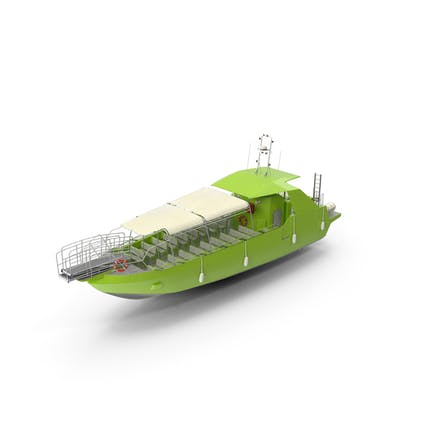 Excursion Boat Green