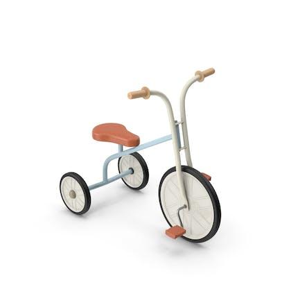 Triciclo soviético para niños