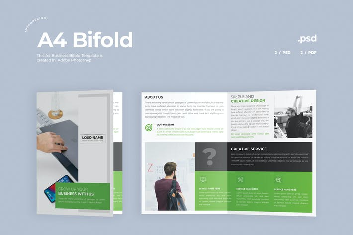 Thumbnail for Business Bifold Broschüre