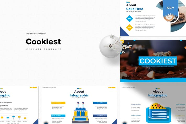 Thumbnail for Cookiest | Keynote Template