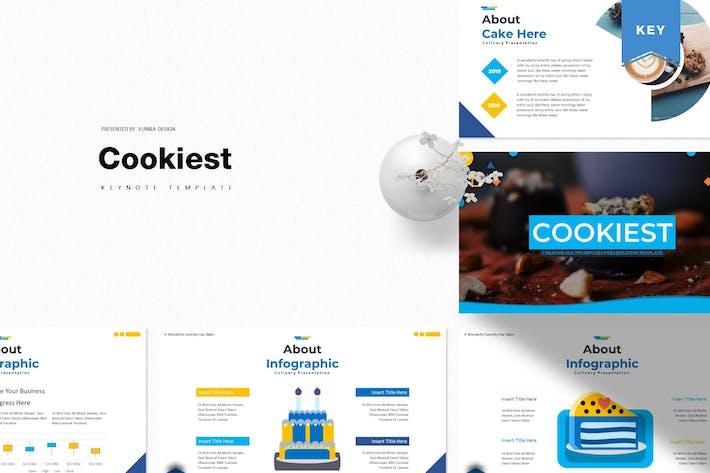 Thumbnail for Cookiest | Шаблон Keynote