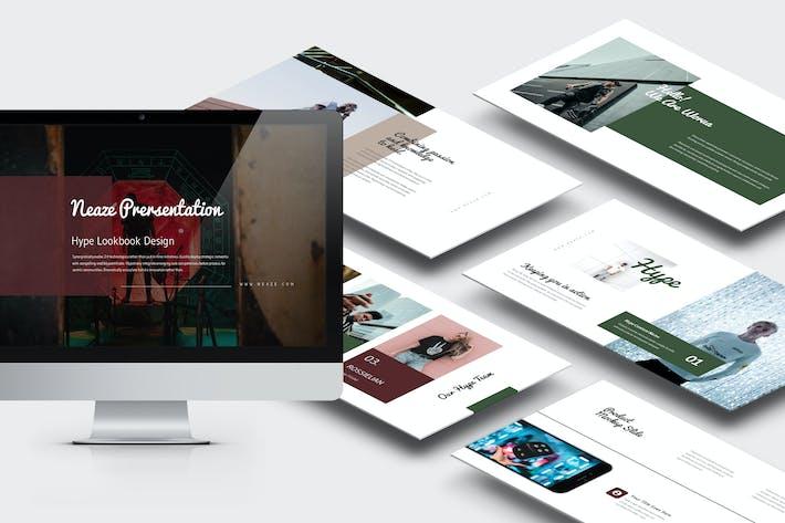 Thumbnail for Neaze: Hypebeast Мода Бизнес Google Слайды