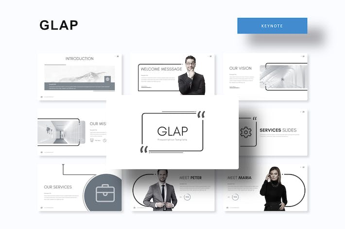 Thumbnail for Glap - Keynote Template