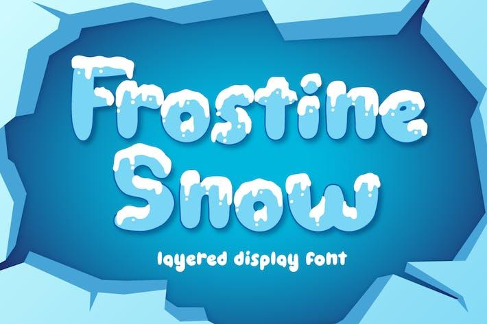 Thumbnail for Frostine Snow - Police de Noël