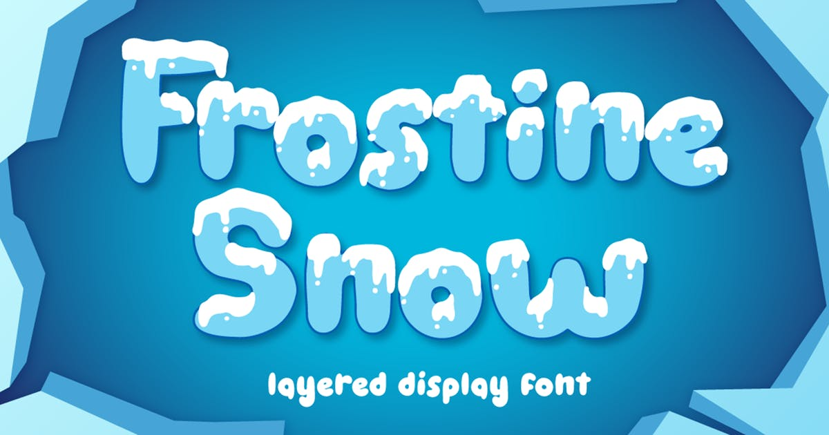 Download Frostine Snow - Christmas Font by Attype-Studio
