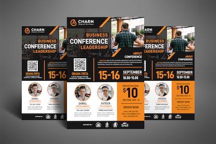 Leadership Seminar / Conference Poster