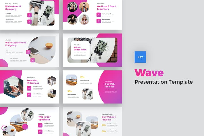 Thumbnail for IT Solutions & Services Keynote Template
