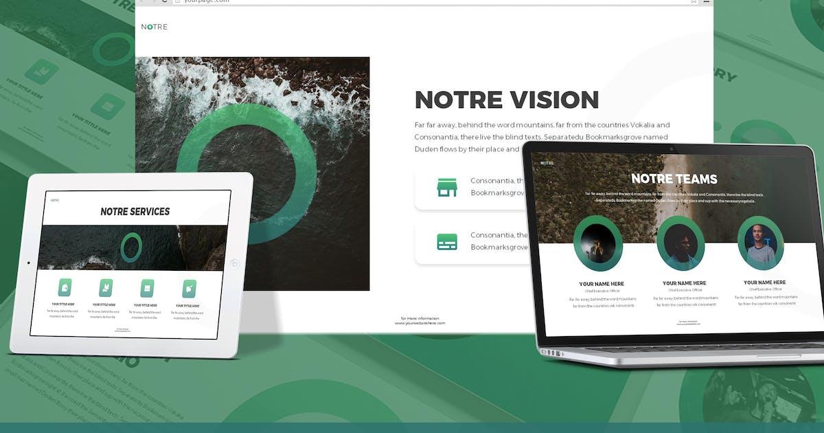 Download Notre - Strategic Plan Google Slides Template by SlideFactory