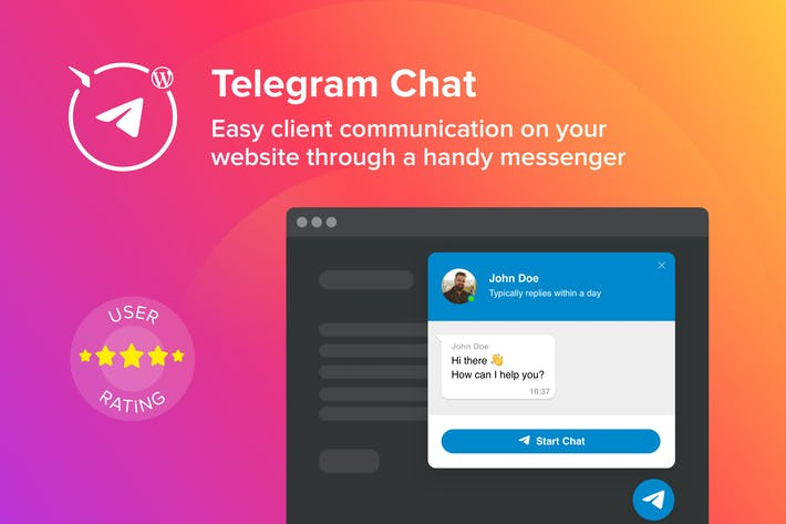 Thumbnail for WordPress Telegram Chat Plugin