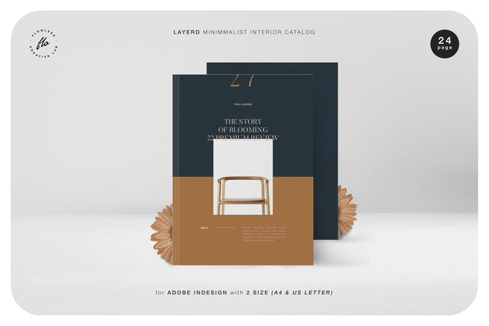 Thumbnail for Catalogue intérieur minimaliste Layerd