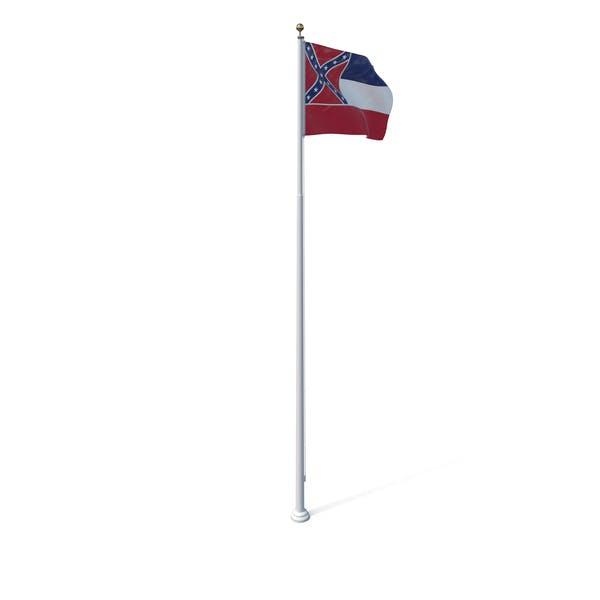 Государственный флаг Миссисипи