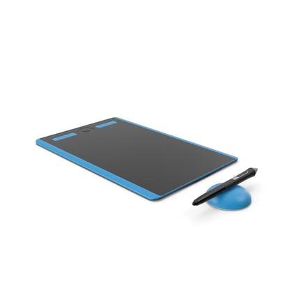 Tablet gráfico con lápiz genérico