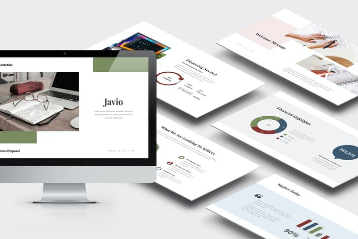 Thumbnail for Javio : Business Proposal Keynote Template