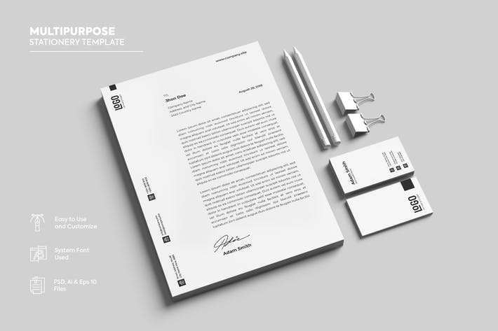 download 793 stationery templates envato elements