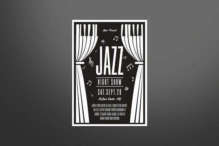 Thumbnail for Jazz Music Flyer
