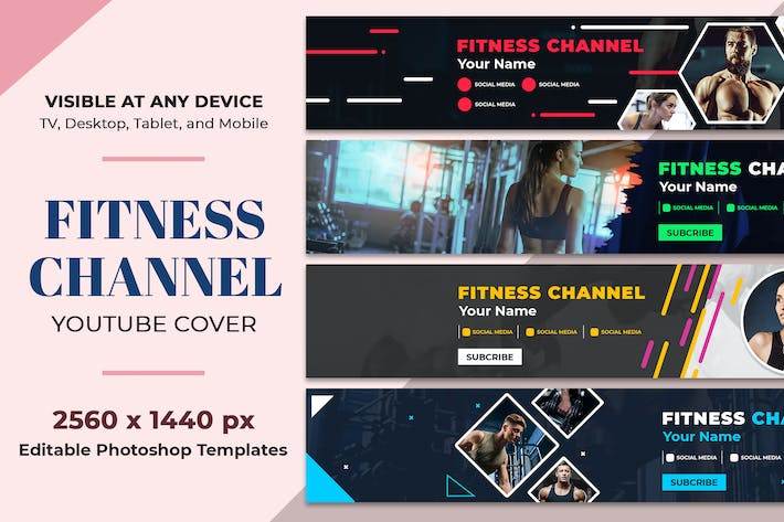 Thumbnail for Fitness Youtube Cover