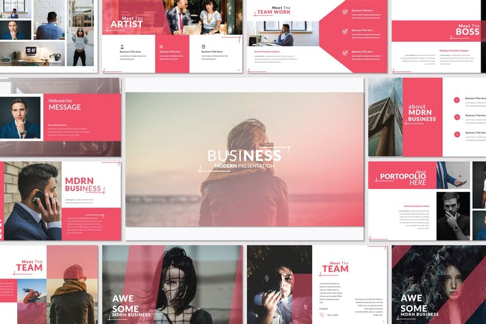 Thumbnail for Business Modern Presentation