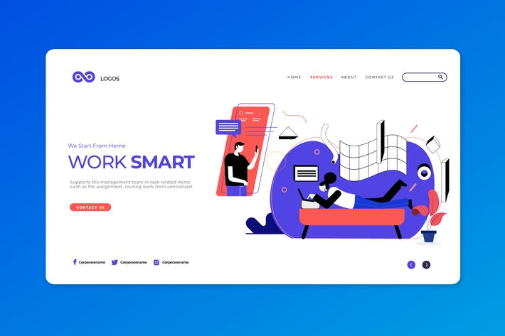 Thumbnail for Work From Home Ui