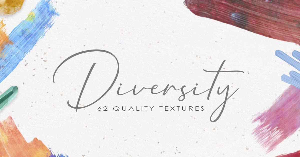 Download 62 Diversity Watercolor Textures by NassyArt