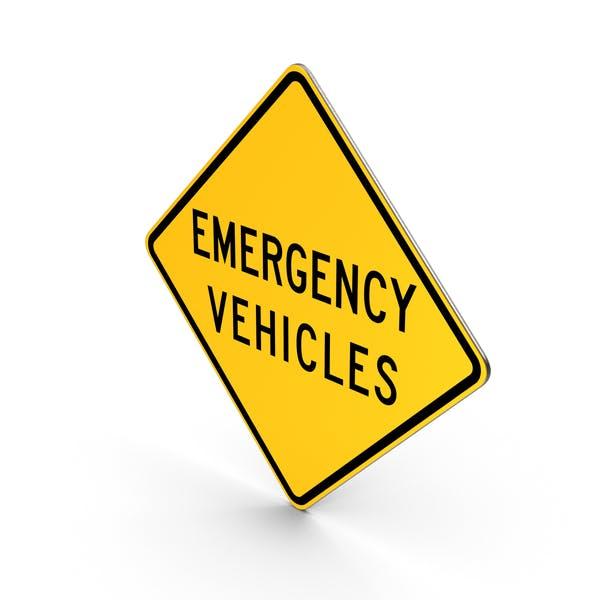 Einsatzfahrzeuge Delaware Road Sign