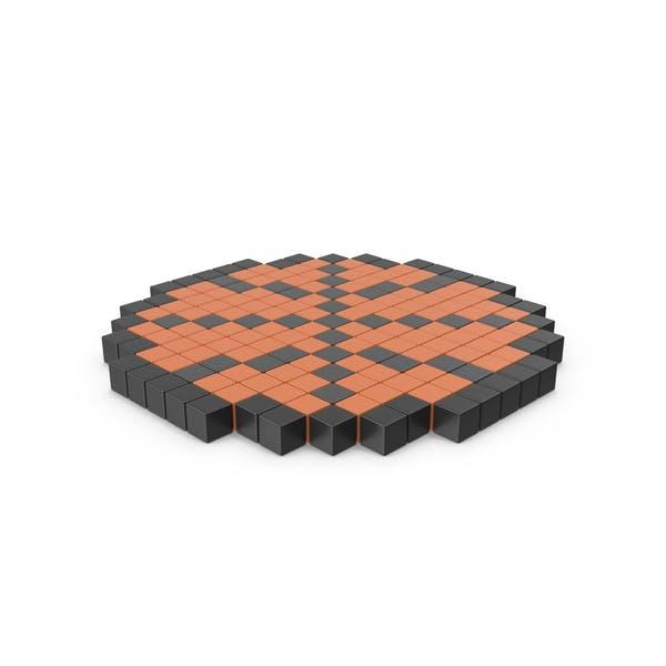 Баскетбол Pixelated значок