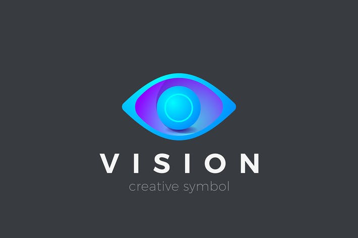 Thumbnail for Eye Logo Vision 3D design symbol