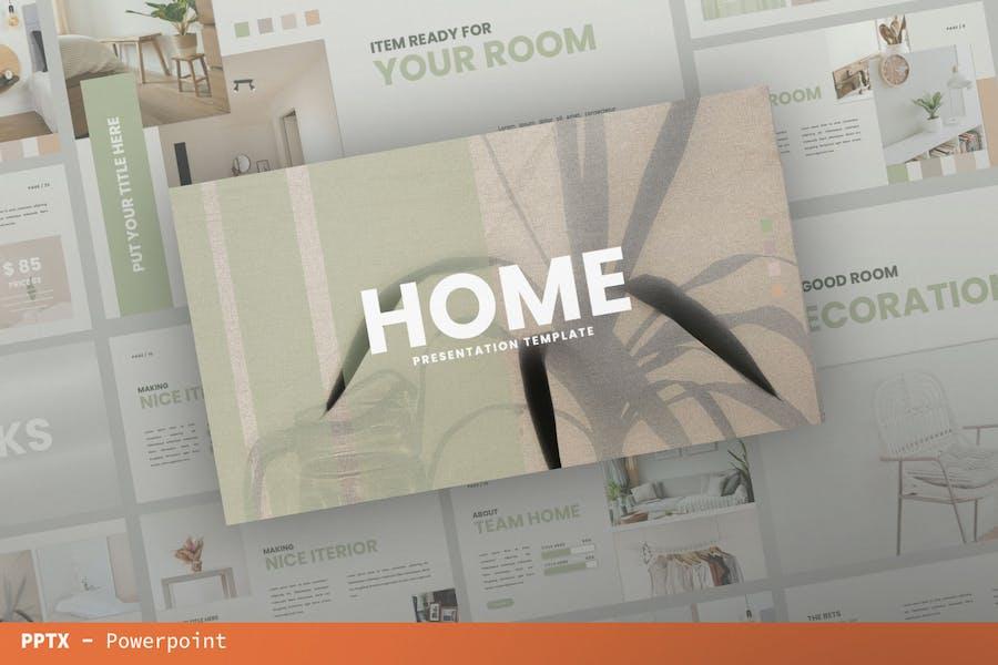 Home Presentation Template