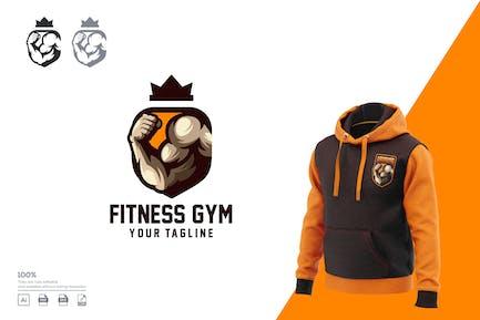 Gym Fitness logo design