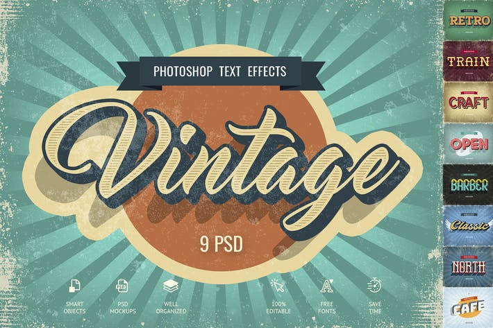 Thumbnail for Vintage Text Effects