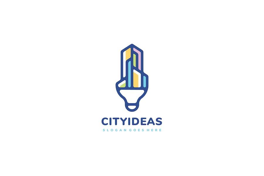 Logo City Idea