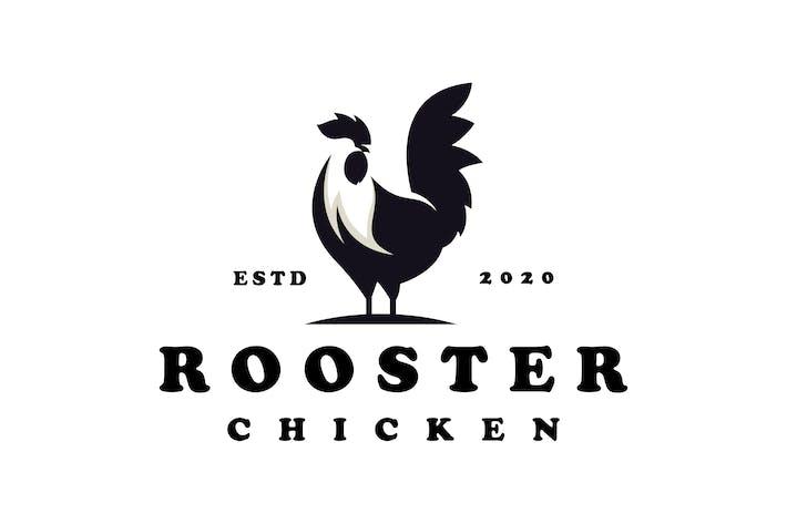 Thumbnail for rooster vintage emblem logo
