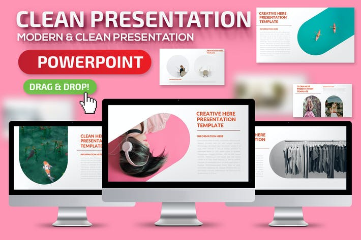 Clean Powerpoint Presentation Template