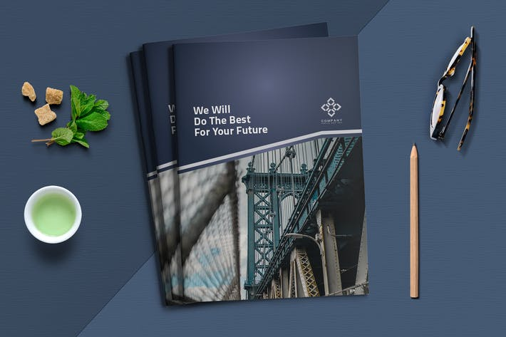 Cover Image For Business Brochure Template
