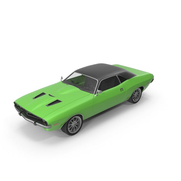 Thumbnail for Retro Car Green
