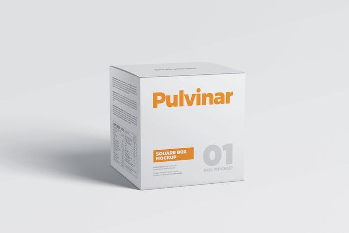 Thumbnail for Box / Packaging MockUp - Square