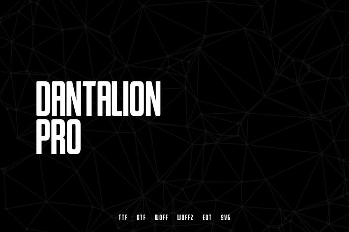 Thumbnail for Dantalion - Modern Typeface + WebFonts